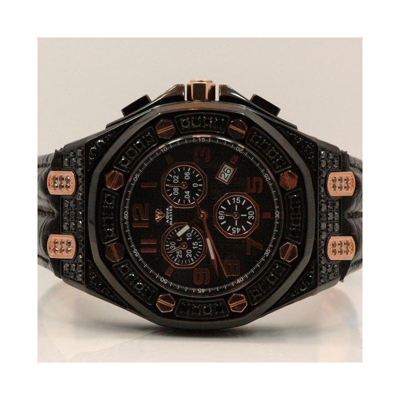 Aqua Master Royal Oak Mens Diamond Watch 49199 1