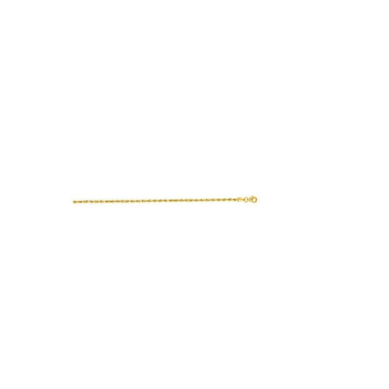 10K 16 inch long Yellow Gold 2.50mm wide 59010 1