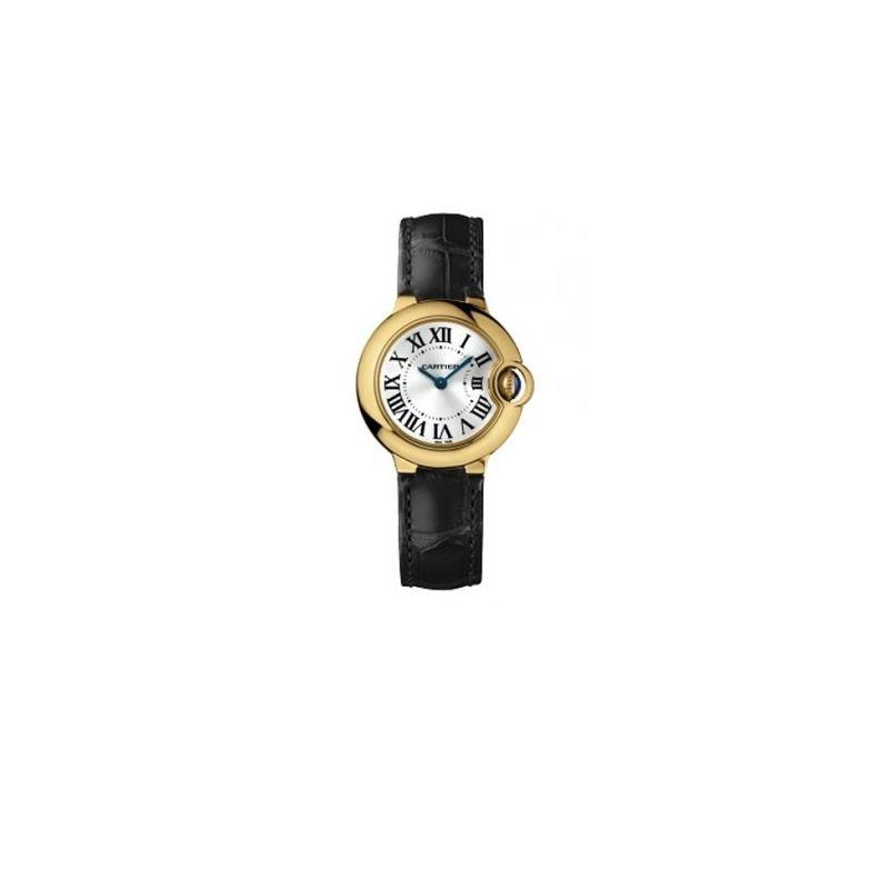 Cartier Ballon Bleu Ladies Gold Watch W6 55121 1