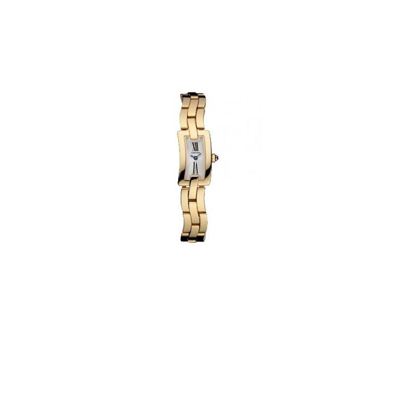 Cartier Ballerine Ladies Solid Gold Watc 55082 1