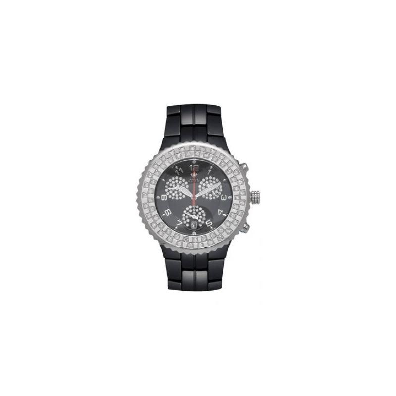 Aqua Master Unisex Ceramic Diamond Watch 53469 1