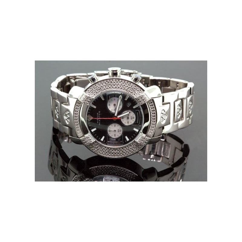 Aqua Master Mens Diamond Watch 96-57 54564 1