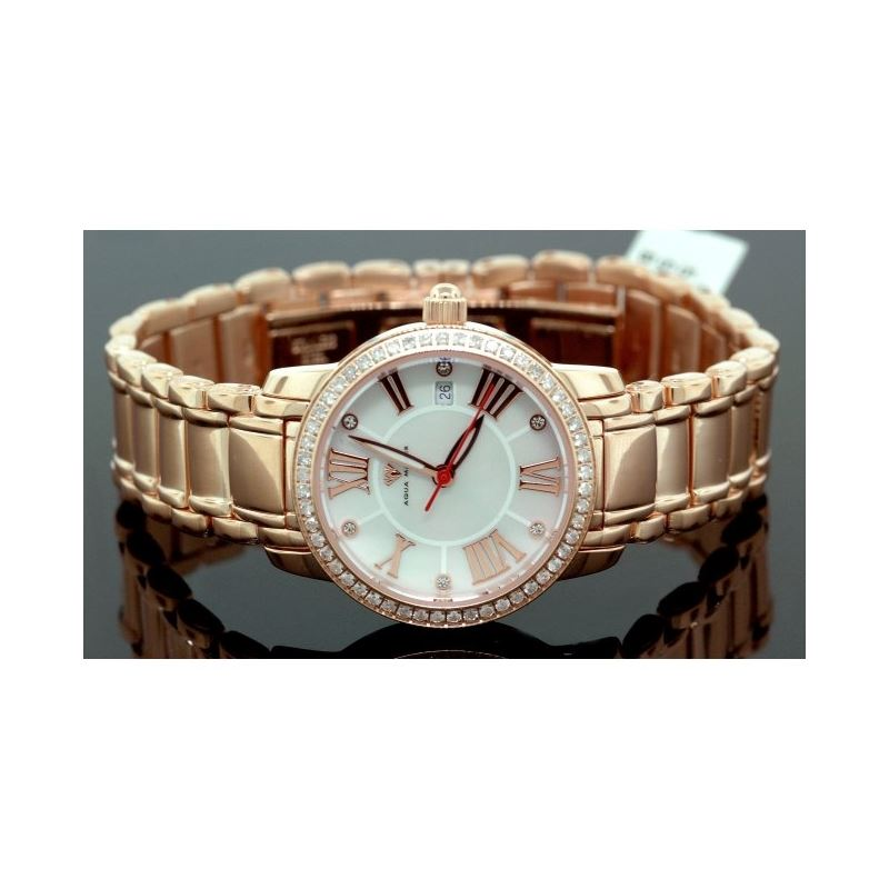 Ladies Classic Diamond Aqua Master Watch 55795 1