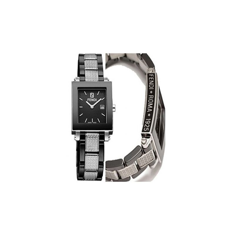 Fendi F631110 Ceramic Mens Watch 53647 1