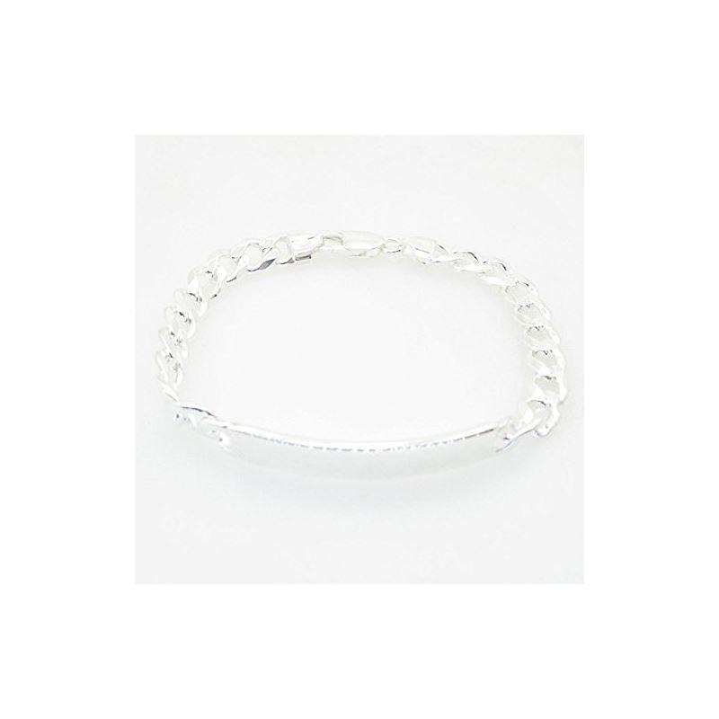 Curb Link ID Bracelet Necklace Length -  72971 1