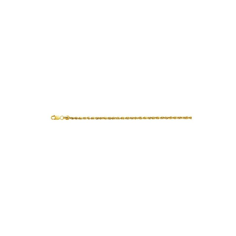 10K 18 inch long Yellow Gold 2.5mm wide  59113 1