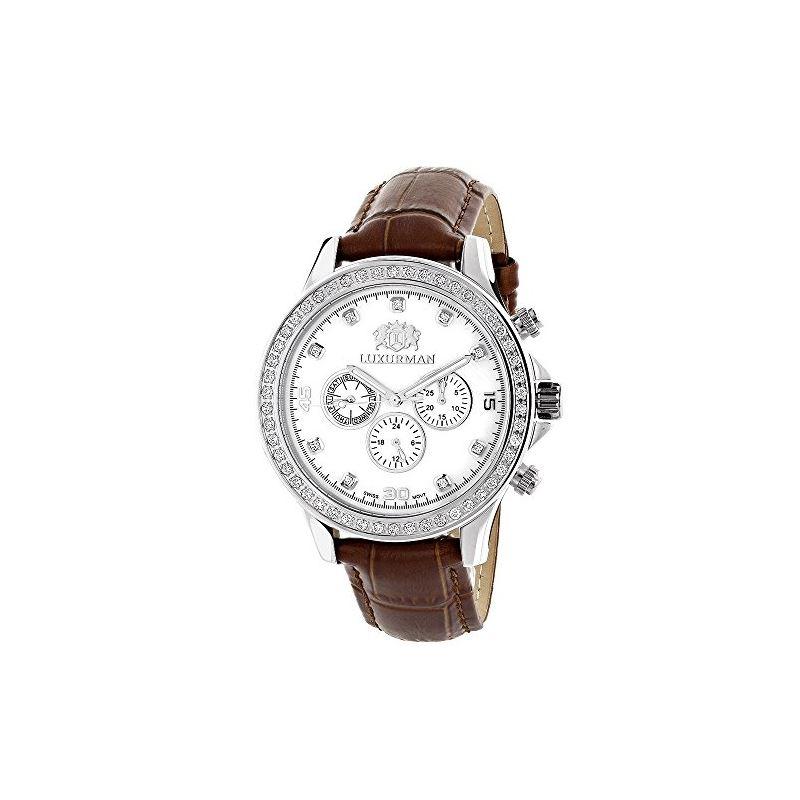 Diamond Watches For Men: Luxurman Libert 89753 1
