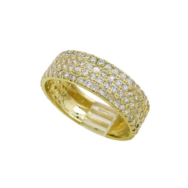 10K Yellow Gold womens wedding band enga 63171 1