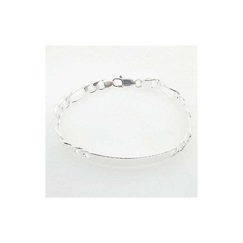 Figaro Link ID Bracelet Necklace Length  73341 1