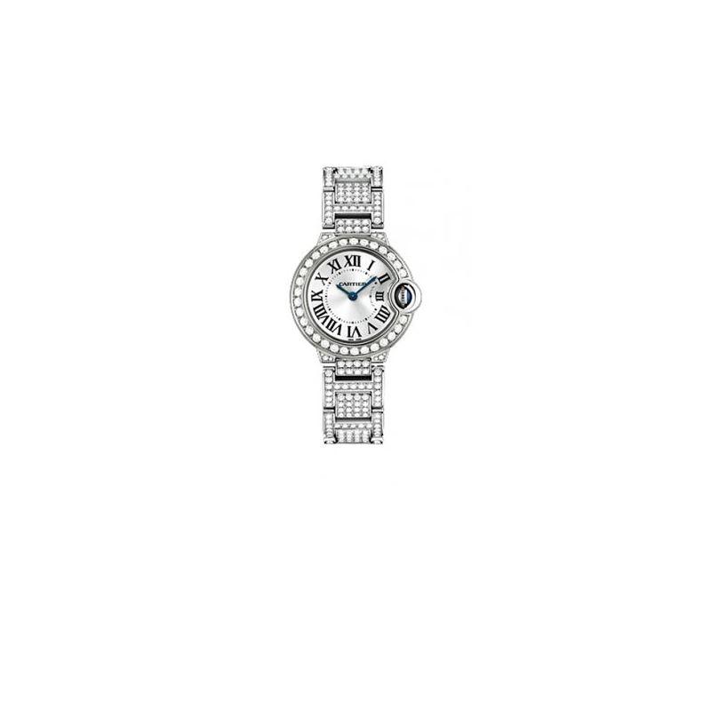 Cartier Ballon Bleu Ladies Diamond Watch 55131 1