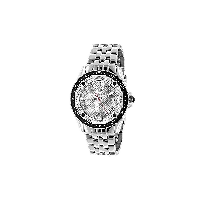 Centorum Mens Real Diamond Watch 0.5ct M 89647 1