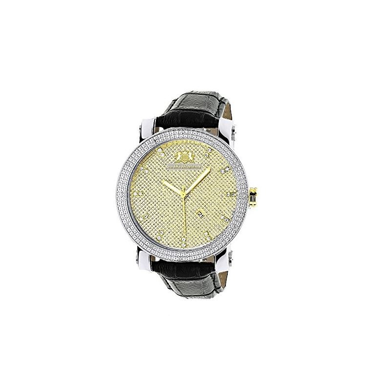 New White And Yellow Gold Luxurman Mens  91080 1