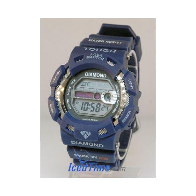 Aqua Master Shock Unisex Diamond Watch 92291 1