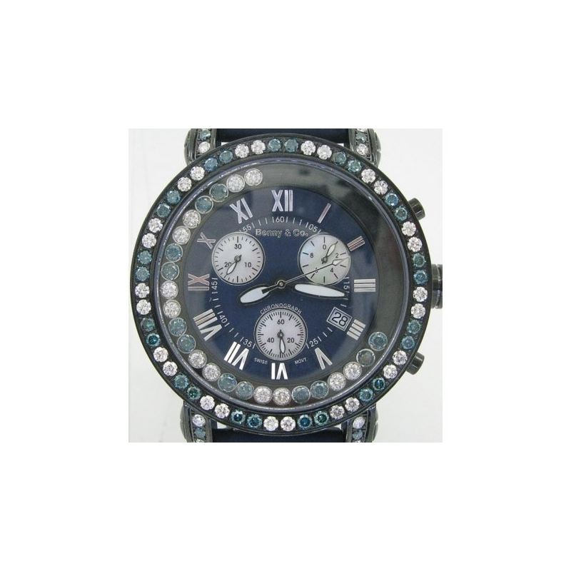 Blue And White Benny Co Diamond Watch BN 89436 1
