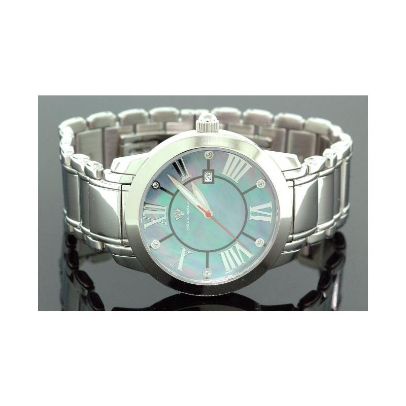 Aqua Master Diamond Mens Watch w3201a 55788 1