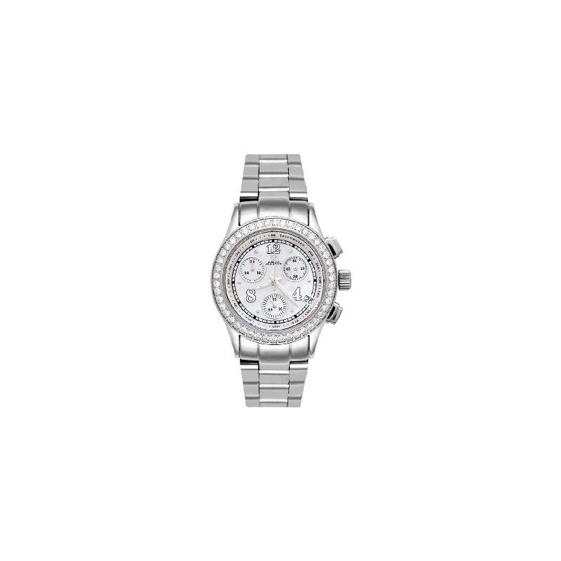 NEW! Ladies' His Hers Diamond Watch, 1.65 Ctw