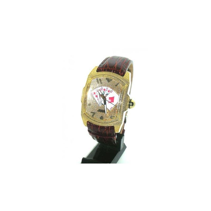 Aqua Master Poker Diamond Watch AMP04 27875 1