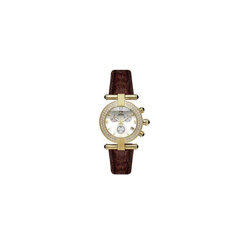 Ladies' Two-Row Big Diamond Watch, 2.80 Ctw