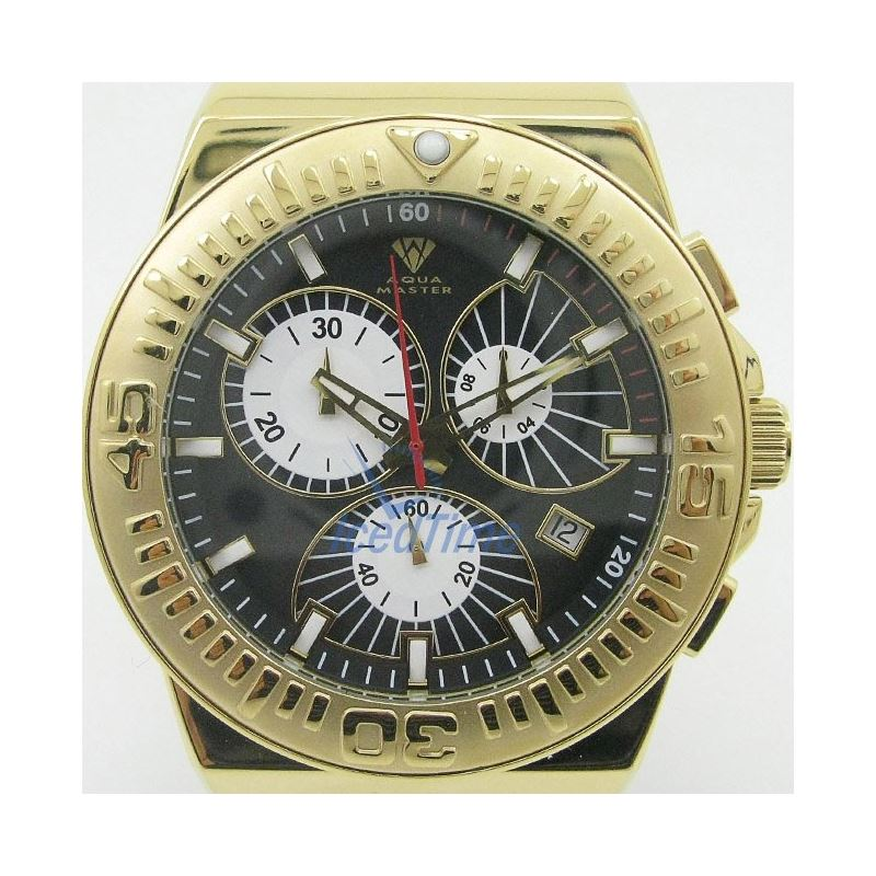 Mens Aqua Master Iced Out Diamond Watch  50531 1