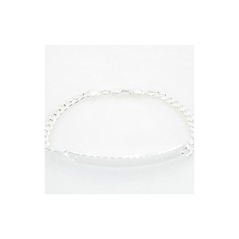 Curb Link ID Bracelet Necklace Length -  72958 1