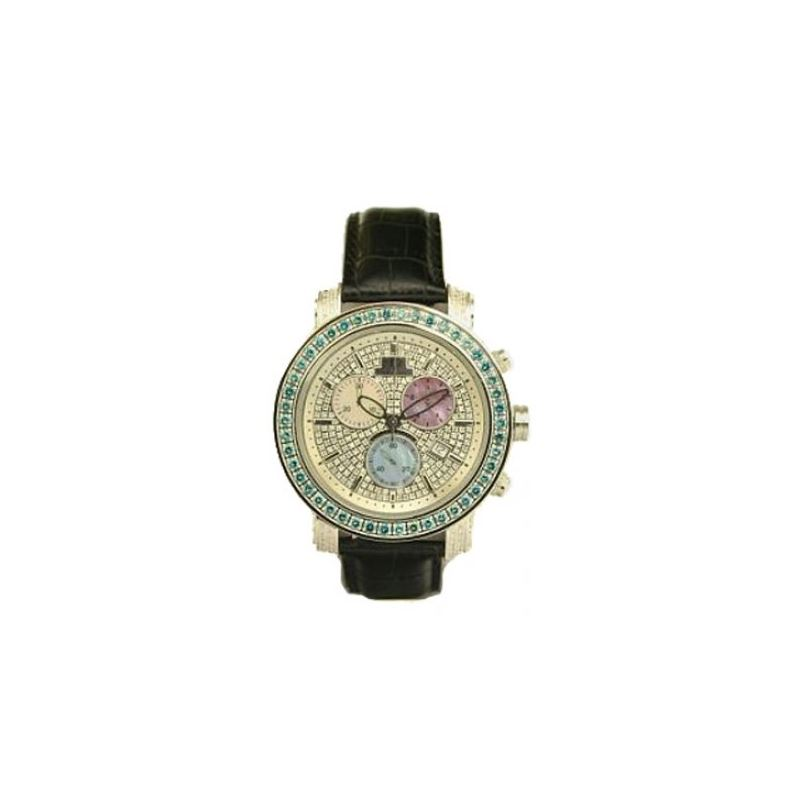 Black Leather Band Green 10218 1