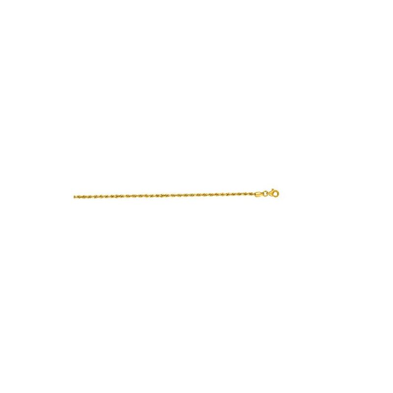 10K 16 inch long Yellow Gold 2.25mm wide 59004 1