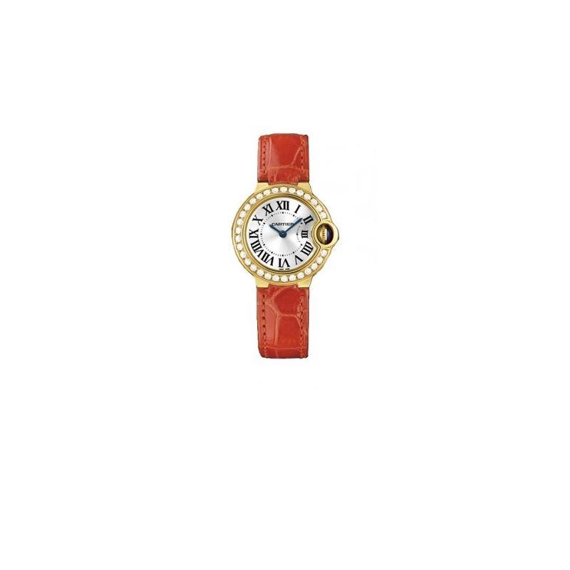 Cartier Ballon Bleu Ladies Gold Watch WE 55126 1