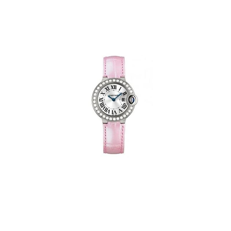 Cartier Ballon Bleu Ladies Gold Watch WE 55135 1