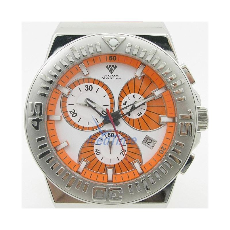 Mens Aqua Master Iced Out Diamond Watch  50762 1