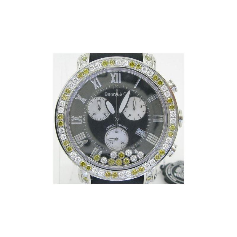 Yellow And White Benny Co Diamond Watch  89452 1