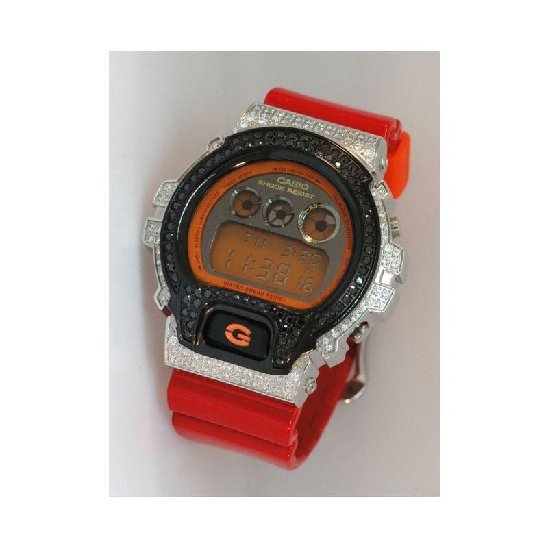 Casio G-Shock 5.00 ct Swarovski Iced Out 53053 1