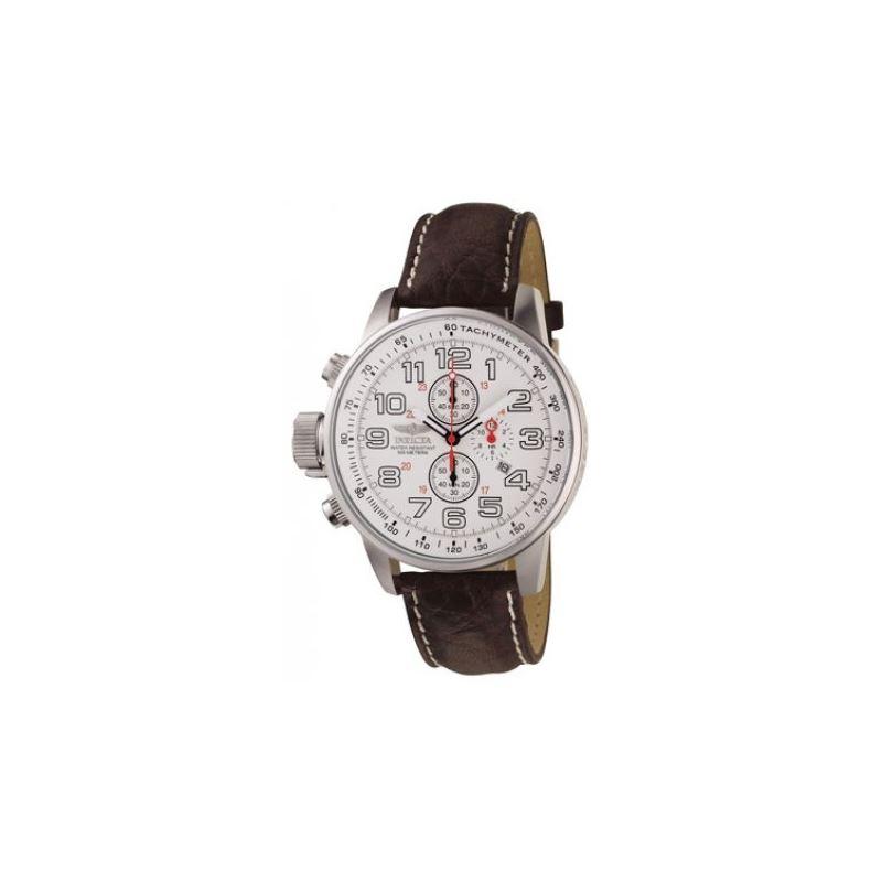 Invicta White Lefty Chronograph Watch 53111 1