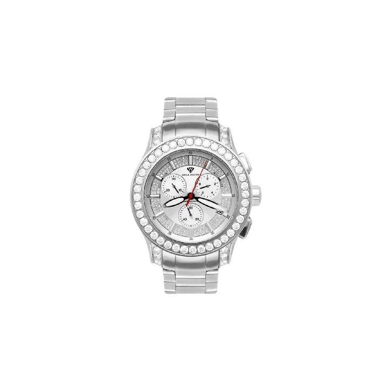 NEW! Men's Masterpiece Diamond Watch, 8.00 Ctw