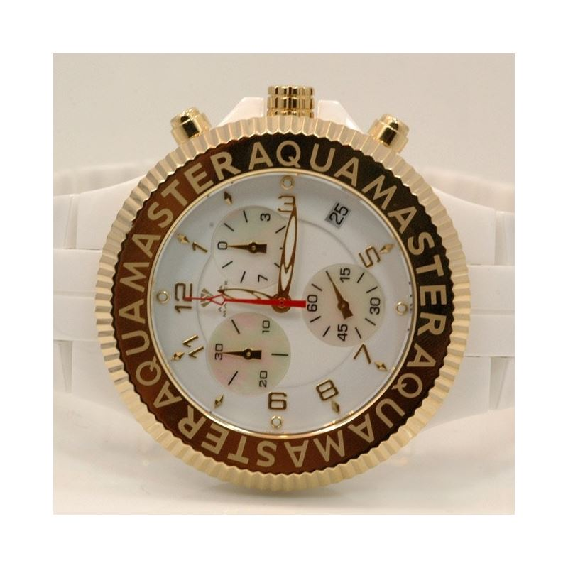 Aqua Master Mens Ceramic Quartz Watch W3 53482 1