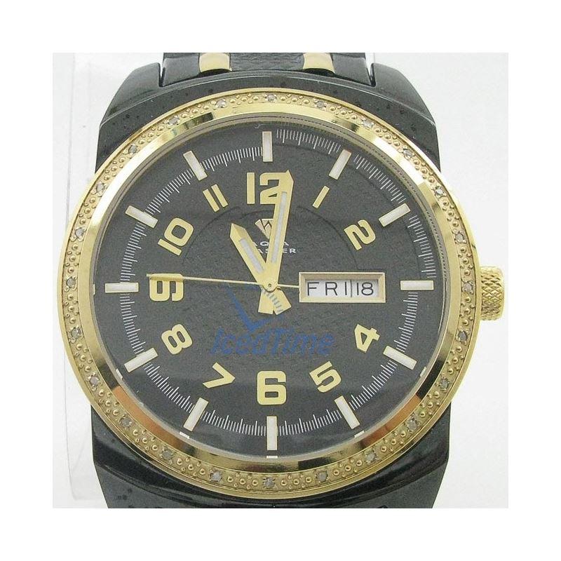 Mens Aqua Master Iced Out Diamond Watch  50594 1