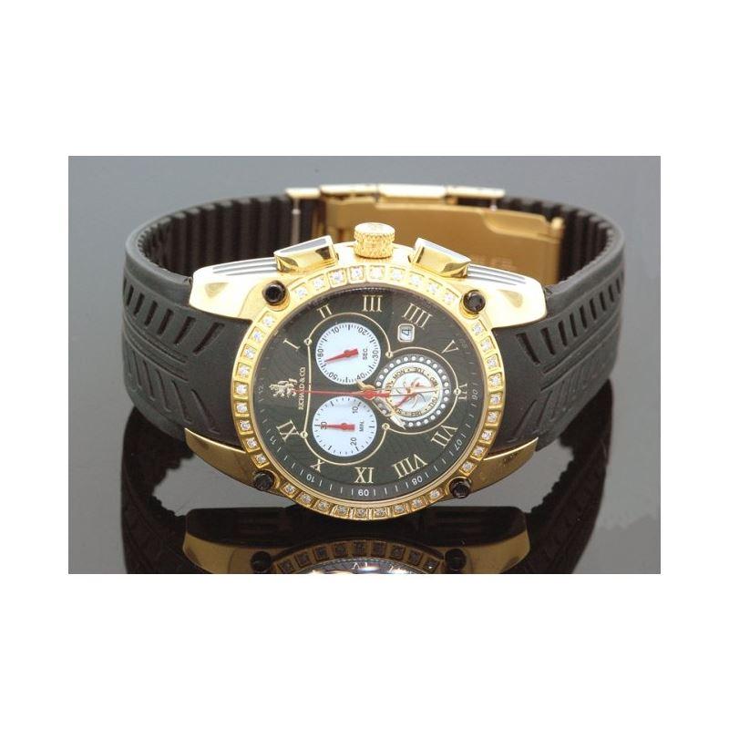 Richard  Co Diamond Watch RC-3019 1.00 c 28164 1