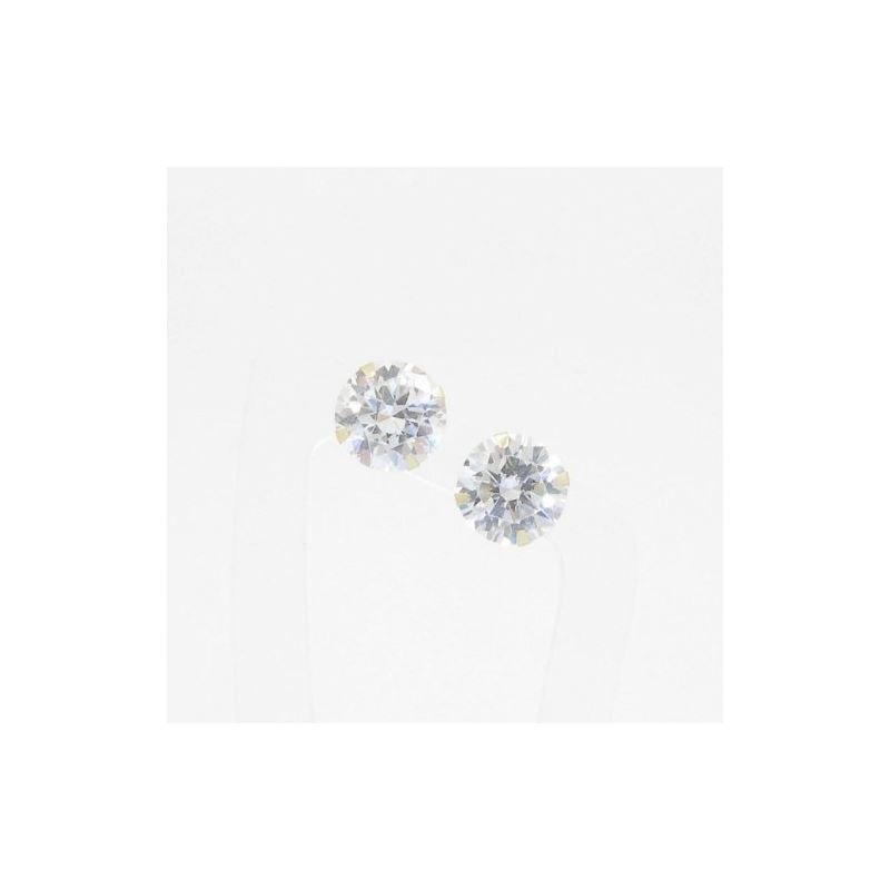 Unisex 14K solid gold earrings fancy stu 81771 1