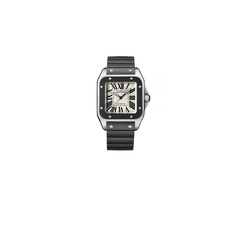 Cartier Santos 100 Mens Watch W20121U2 55187 1