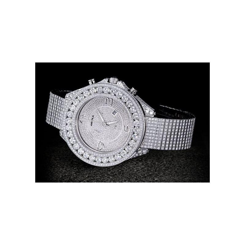Arctica Watches Arctica 57mm Diamond Cas 49152 1
