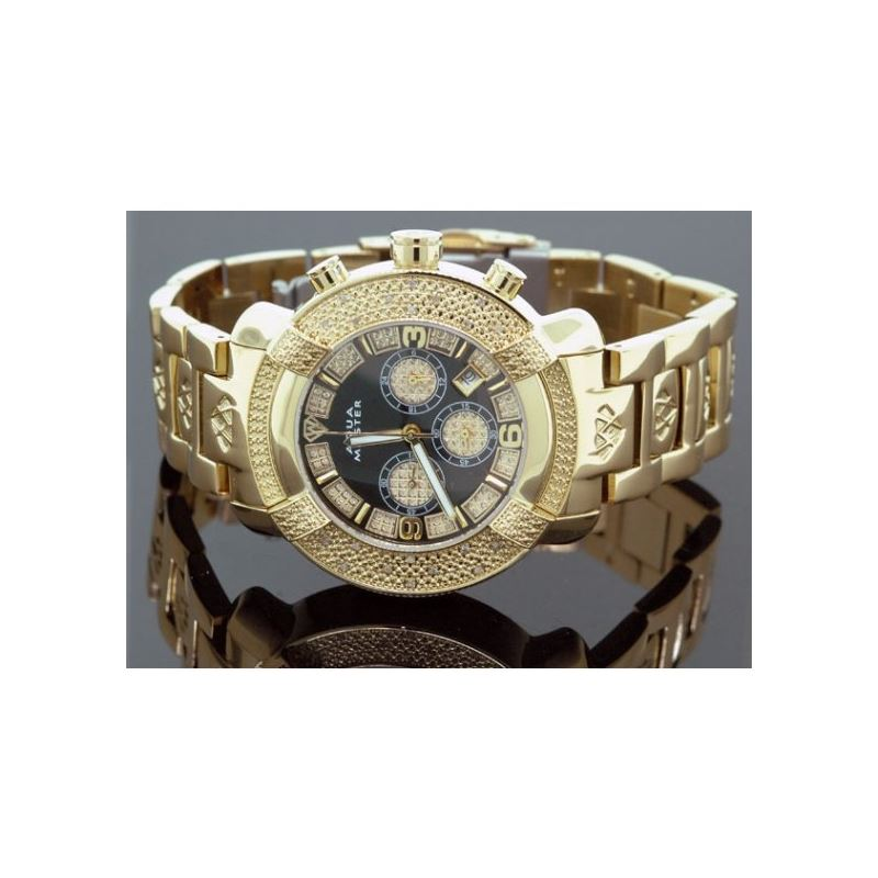 Aqua Master Mens Diamond Watch 96-61 54568 1
