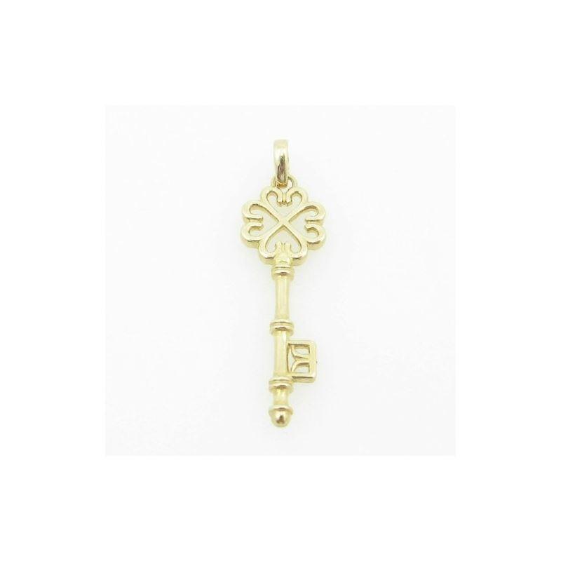 womens bp104 fancy key 14K yellow gold g 83803 1