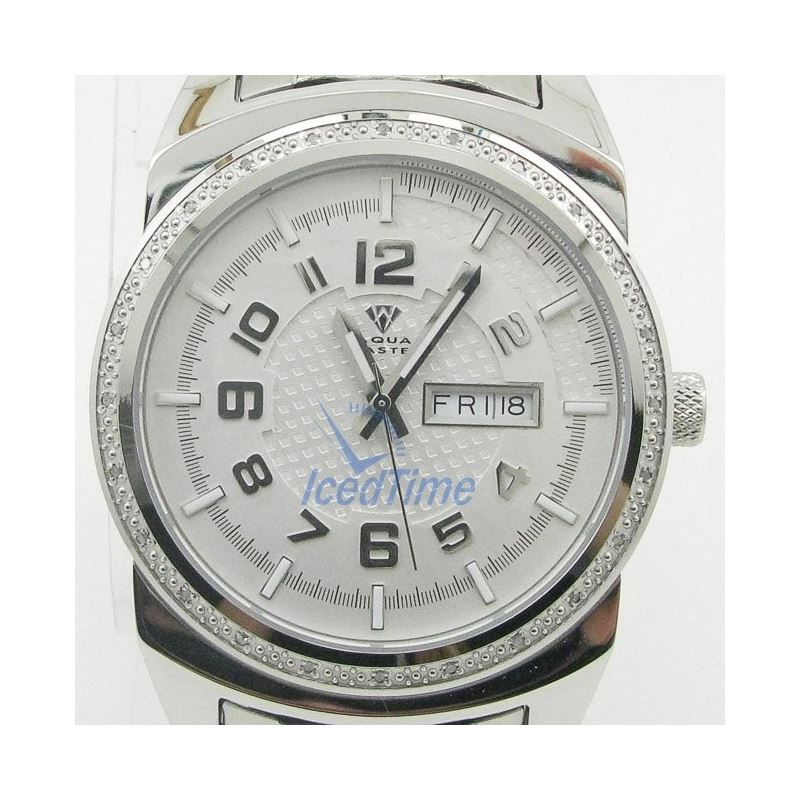 Mens Aqua Master Iced Out Diamond Watch  50580 1
