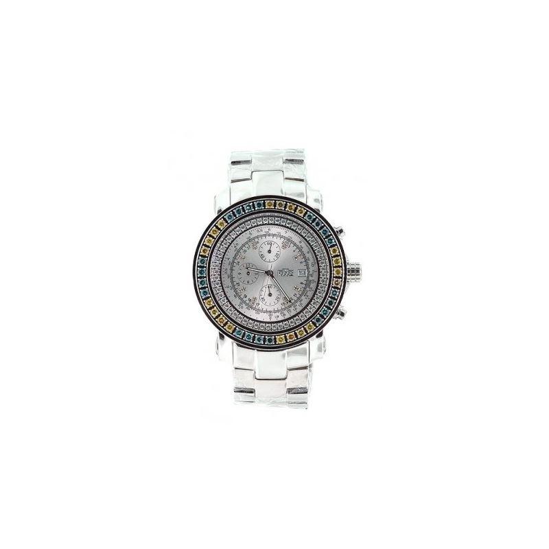 Freeze Watch - 2.75ctw Color Diamond Bez 53255 1