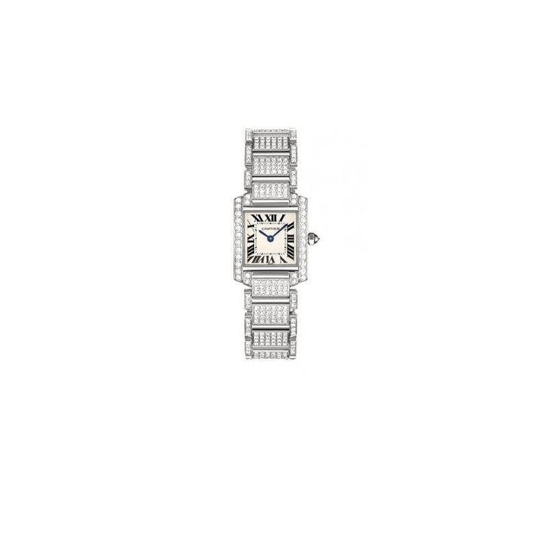 Cartier Tank Francaise 18kt White Gold D 55328 1