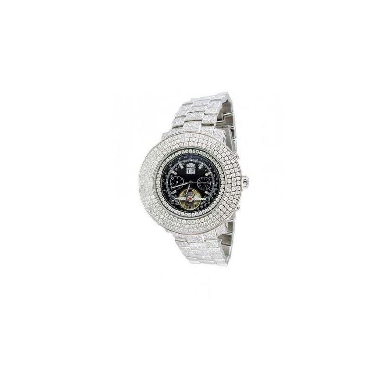 Freeze Mens Jumbo Face Diamond Watch FR- 53225 1