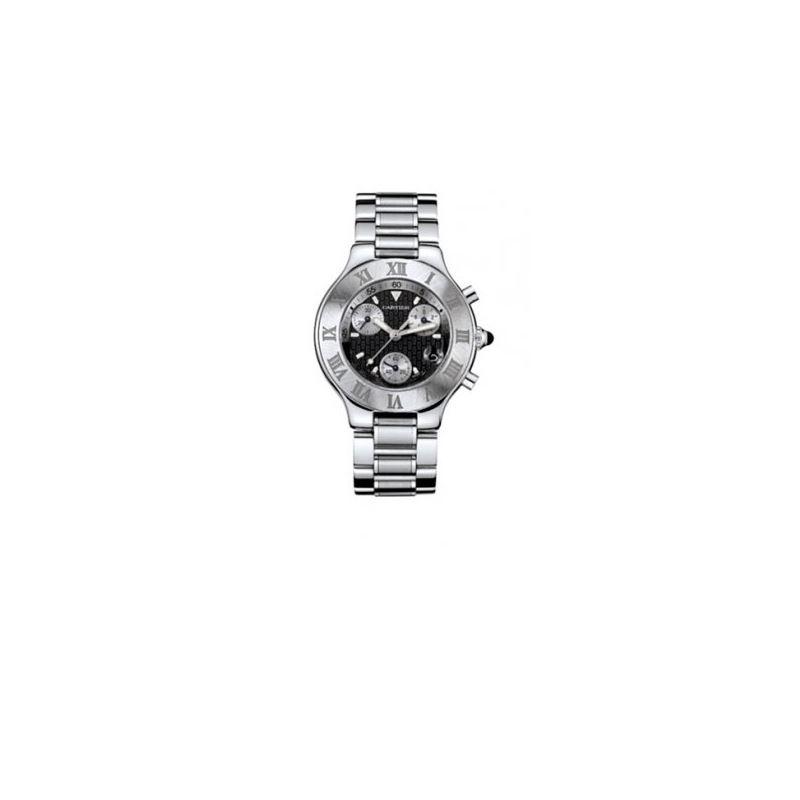 Cartier Must 21 Chronoscaph Mens Watch W 55160 1