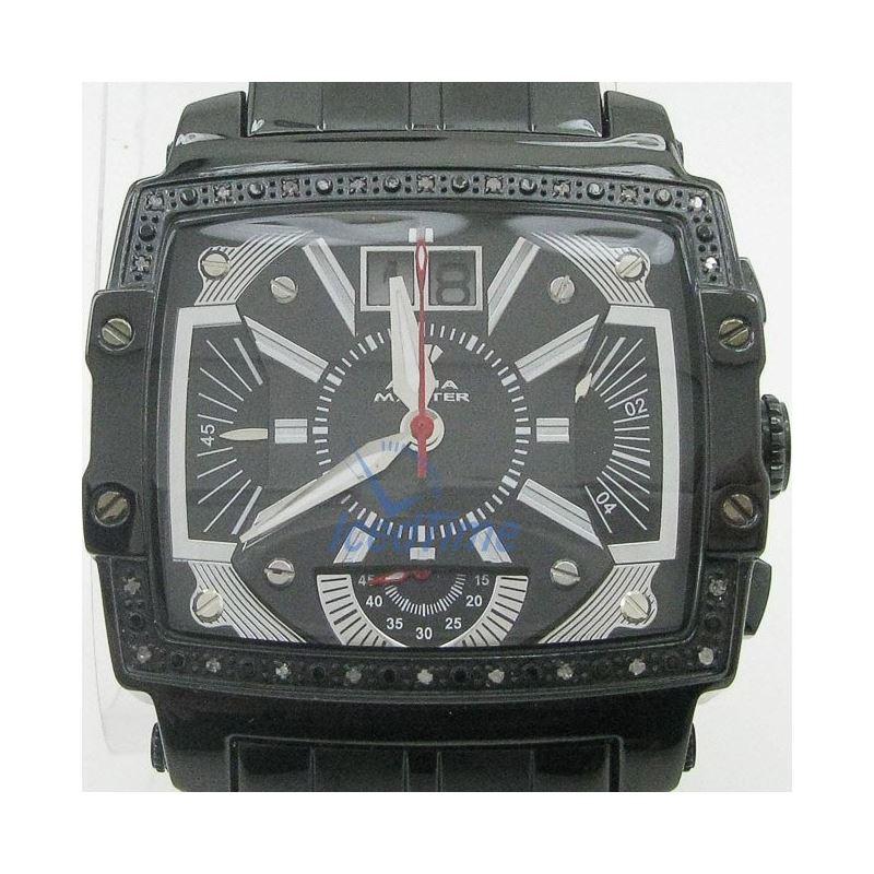 Mens Aqua Master Iced Out Diamond Watch  50671 1