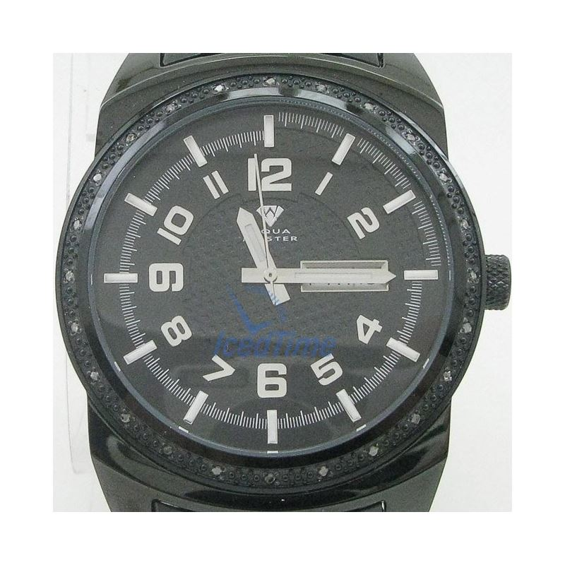 Mens Aqua Master Iced Out Diamond Watch  50587 1