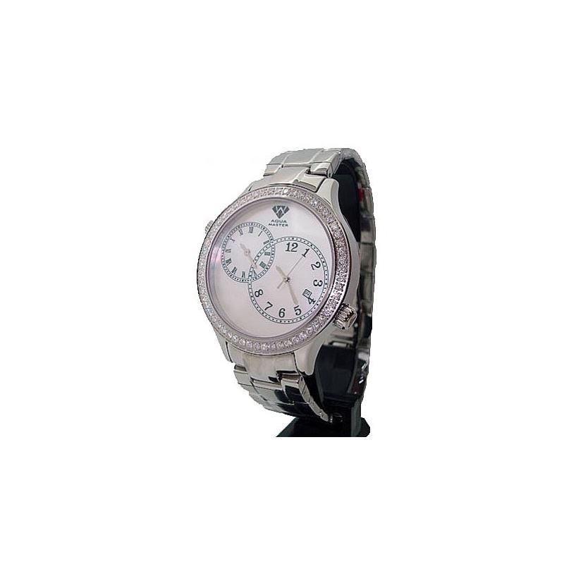 Aqua Master 2.45ctw Mens Diamond Watch A 28044 1