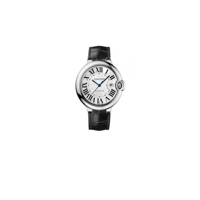 Cartier Ballon Bleu Polished 18K White G 55103 1